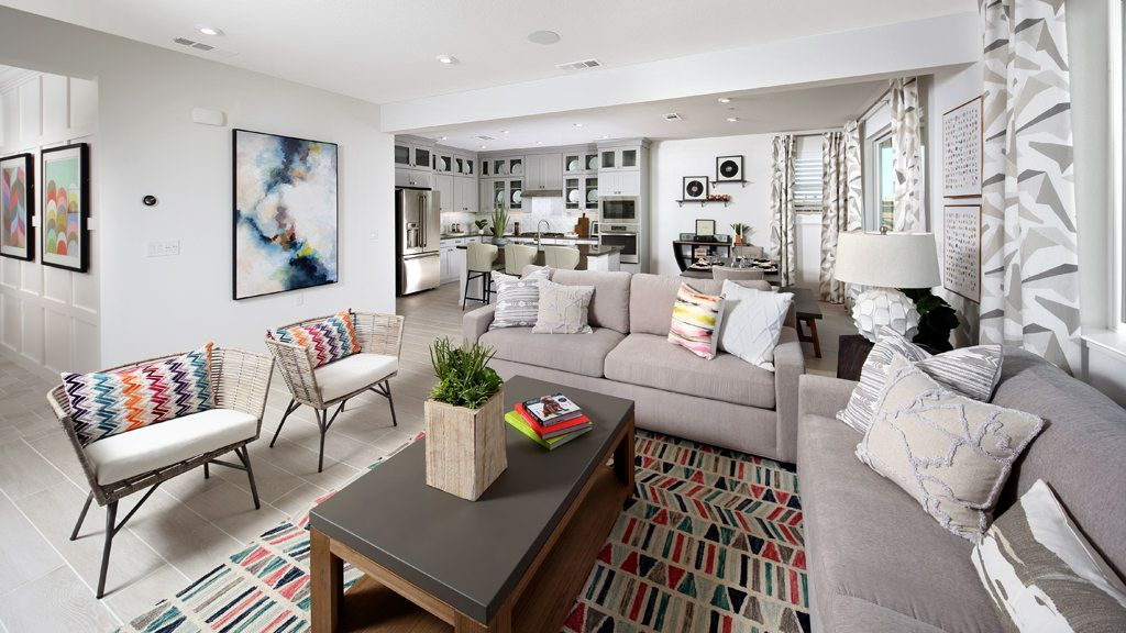 Living Area featured in the Journey Plan 1 Plan By Taylor Morrison in Sacramento, CA