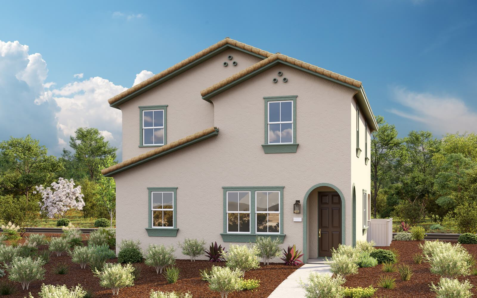 Exterior featured in the Plan 3 Franklin Plan By Taylor Morrison in Sacramento, CA