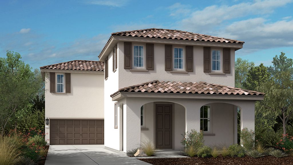 Exterior featured in the Plan 4 Monterey Plan By Taylor Morrison in Sacramento, CA