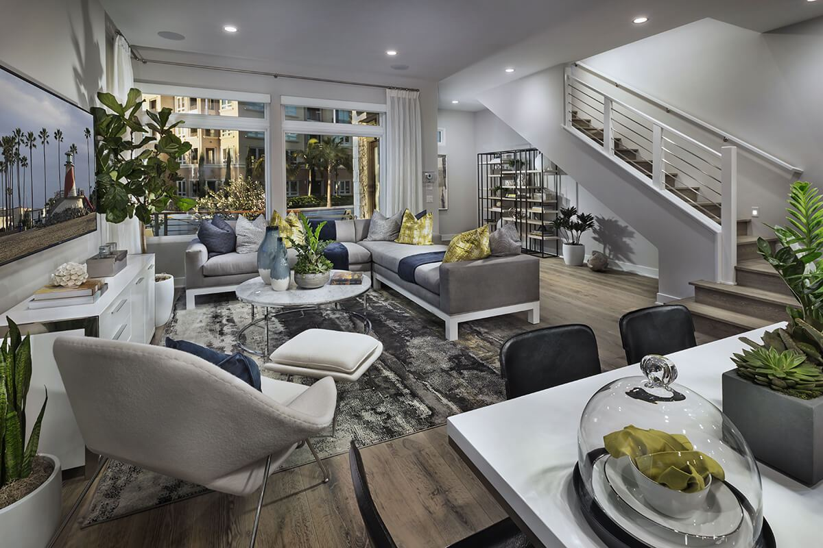 Living Area featured in the Plan 2 Option 3 By Taylor Morrison in Los Angeles, CA