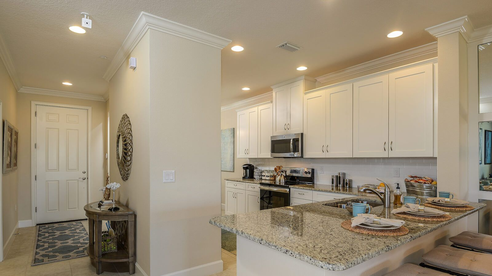 Kitchen featured in the Caserta VII By Taylor Morrison in Naples, FL