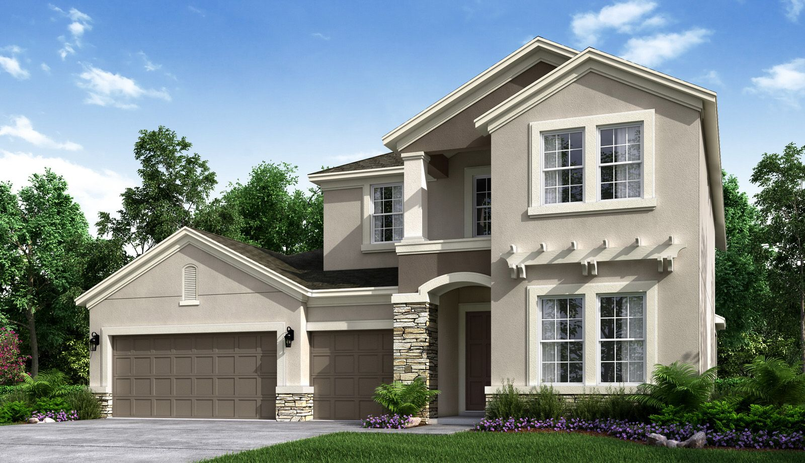 Exterior featured in the Caladesi By Taylor Morrison in Orlando, FL