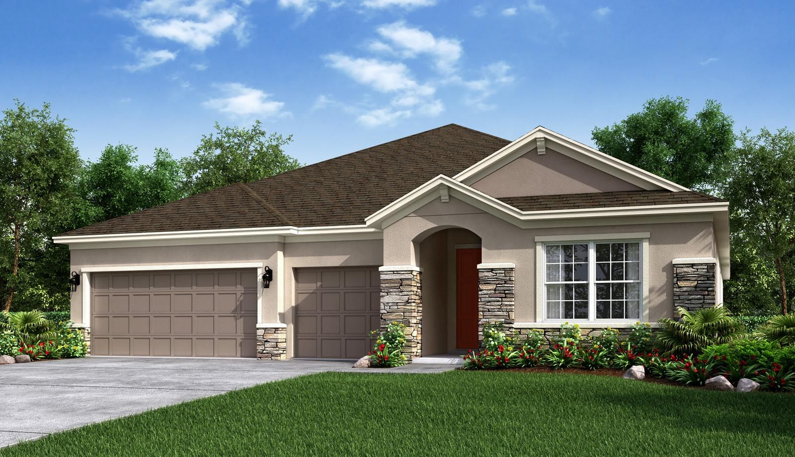Exterior featured in the Saint Croix By Taylor Morrison in Orlando, FL