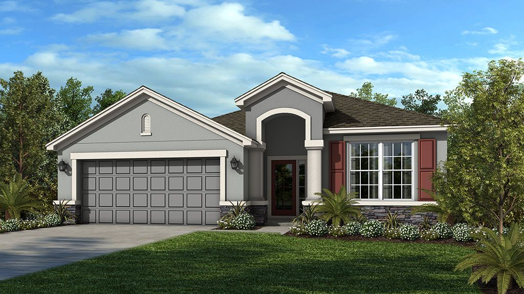 Exterior featured in the St Thomas By Taylor Morrison in Orlando, FL