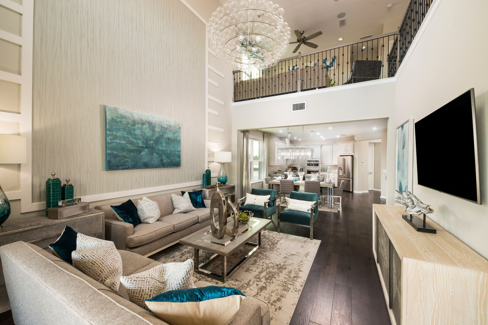 Living Area featured in the Anastasia By Taylor Morrison in Orlando, FL
