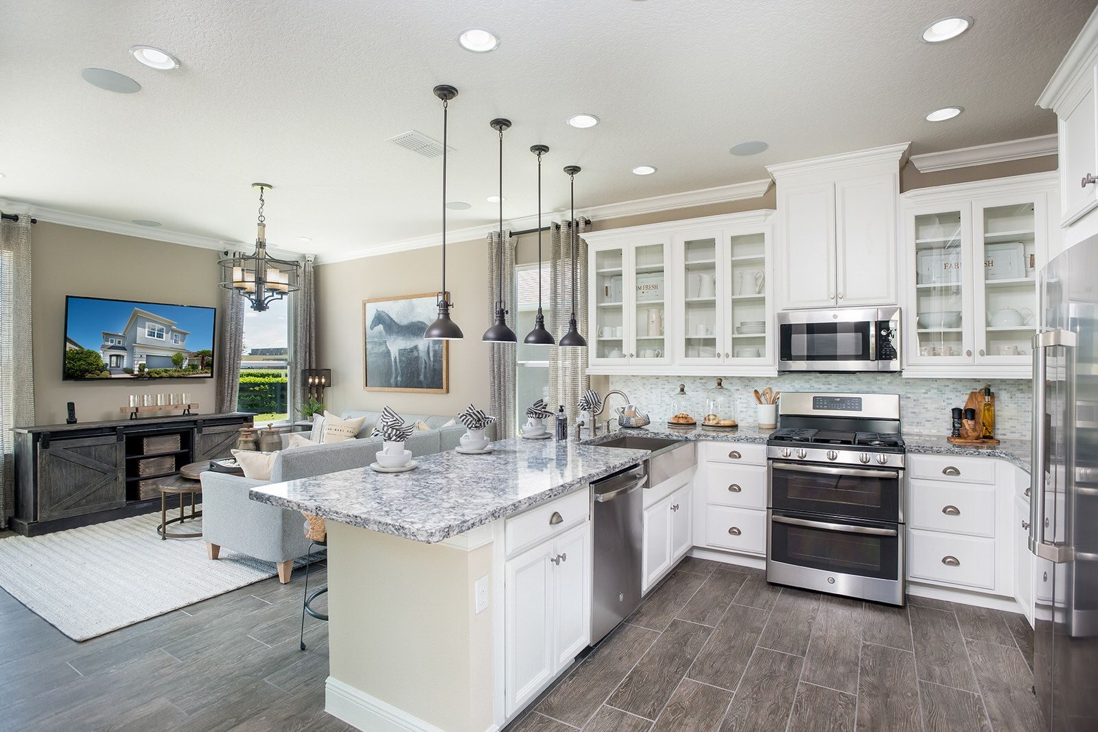 Kitchen featured in the Boca Grande By Taylor Morrison in Orlando, FL