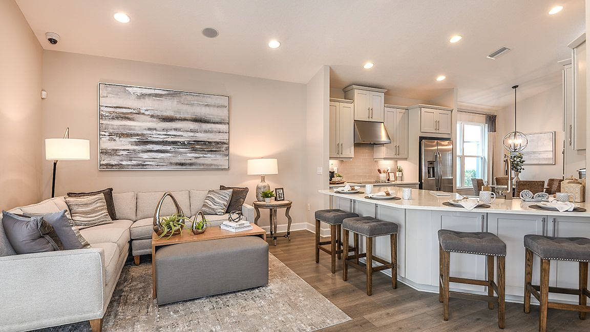 Living Area featured in the Saint Thomas By Taylor Morrison in Tampa-St. Petersburg, FL