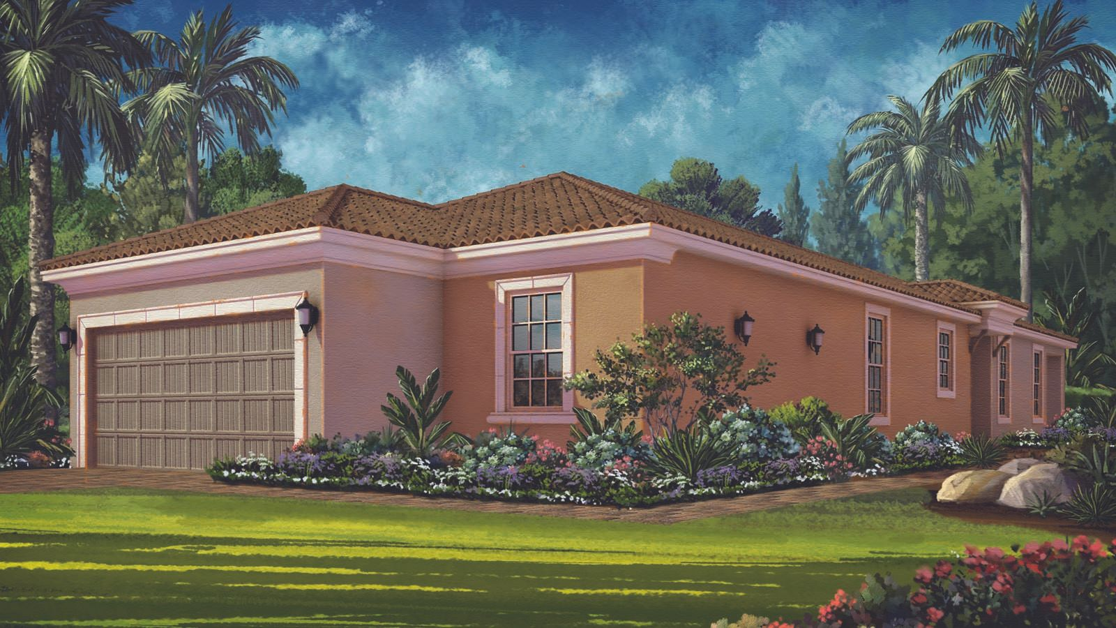 Exterior featured in the Arezzo Plan By Taylor Morrison in Sarasota-Bradenton, FL
