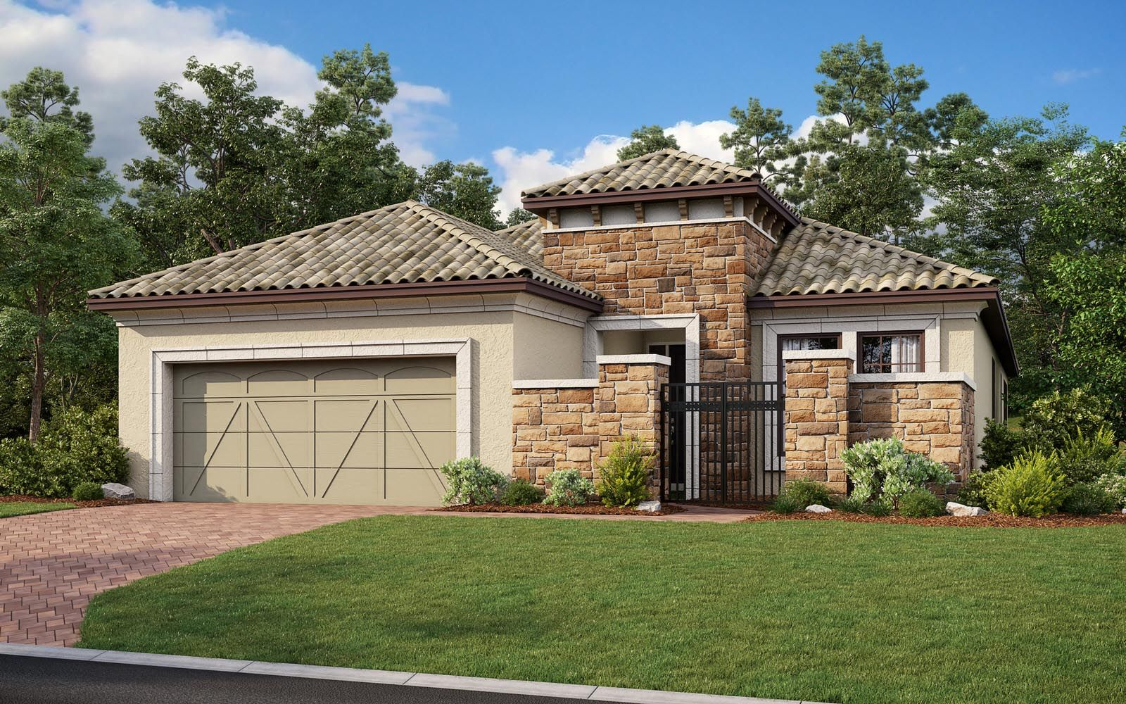 Exterior featured in the Lazio Plan By Taylor Morrison in Naples, FL