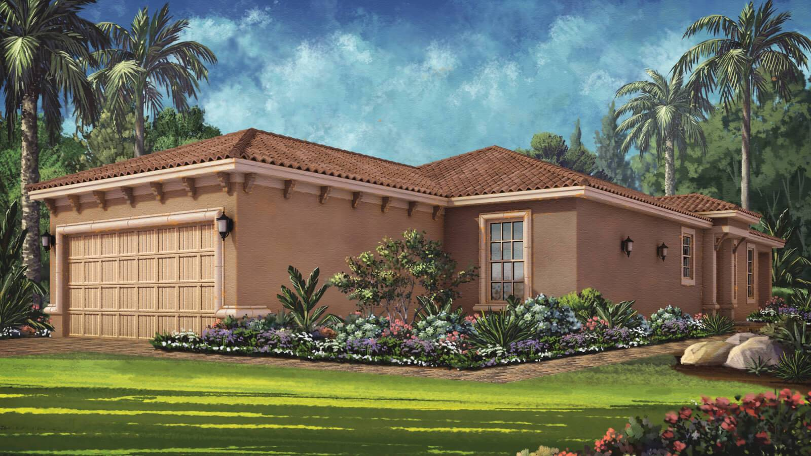 Exterior featured in the Roma Plan By Taylor Morrison in Tampa-St. Petersburg, FL