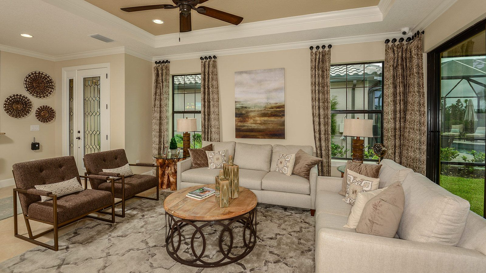 Living Area featured in the Arezzo Plan By Taylor Morrison in Tampa-St. Petersburg, FL