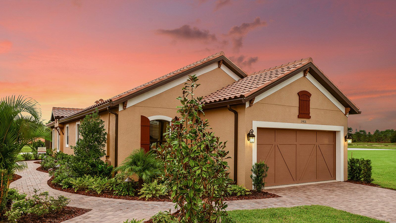 Exterior featured in the Arezzo Plan By Taylor Morrison in Tampa-St. Petersburg, FL