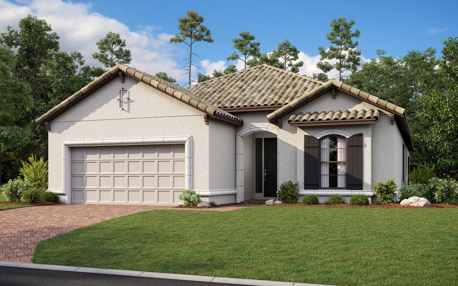 Exterior featured in the Lazio By Taylor Morrison in Tampa-St. Petersburg, FL