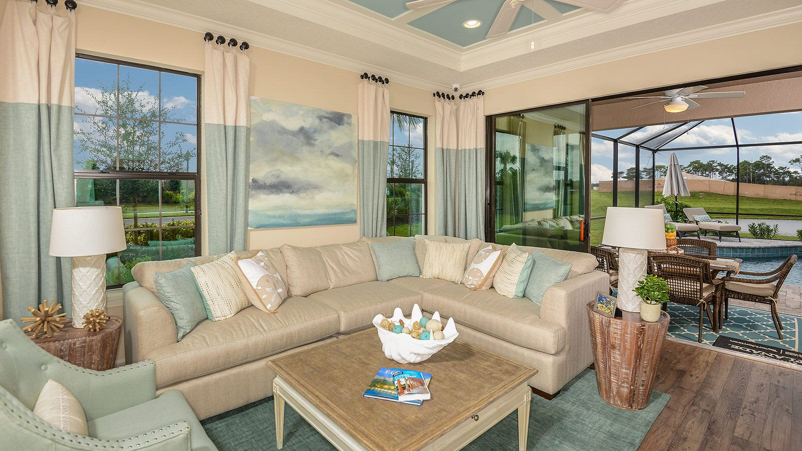 Living Area featured in the Roma Plan By Taylor Morrison in Tampa-St. Petersburg, FL