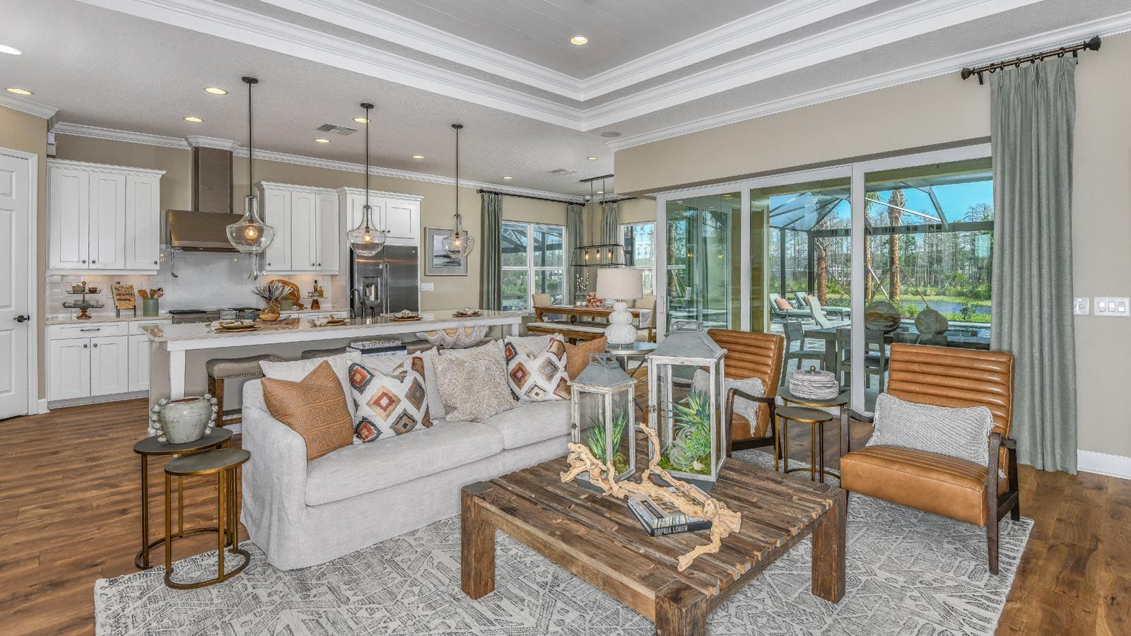 Living Area featured in the Tortola By Taylor Morrison in Tampa-St. Petersburg, FL