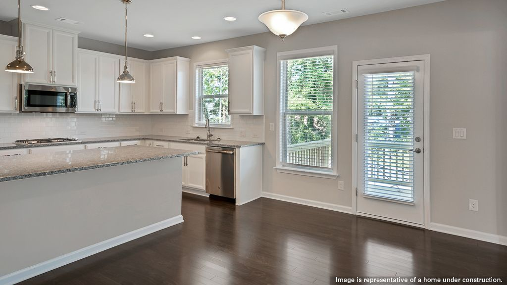 Kitchen featured in the Chelsea By Taylor Morrison in Atlanta, GA
