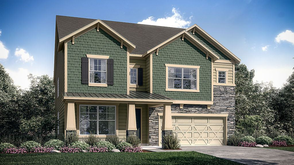 Exterior featured in the Somerset By Taylor Morrison in Charlotte, NC