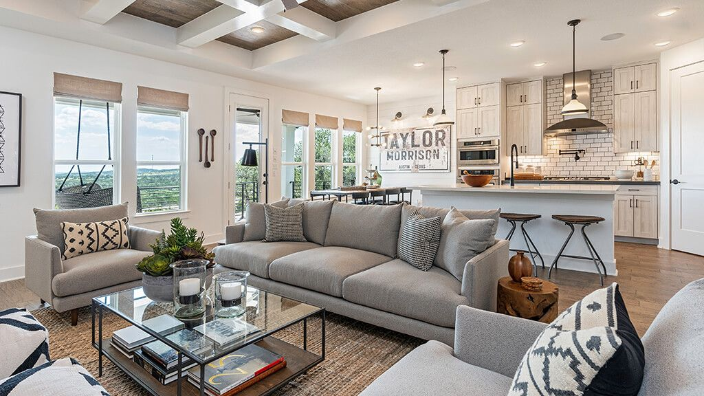 Living Area featured in the Azure By Taylor Morrison in Austin, TX