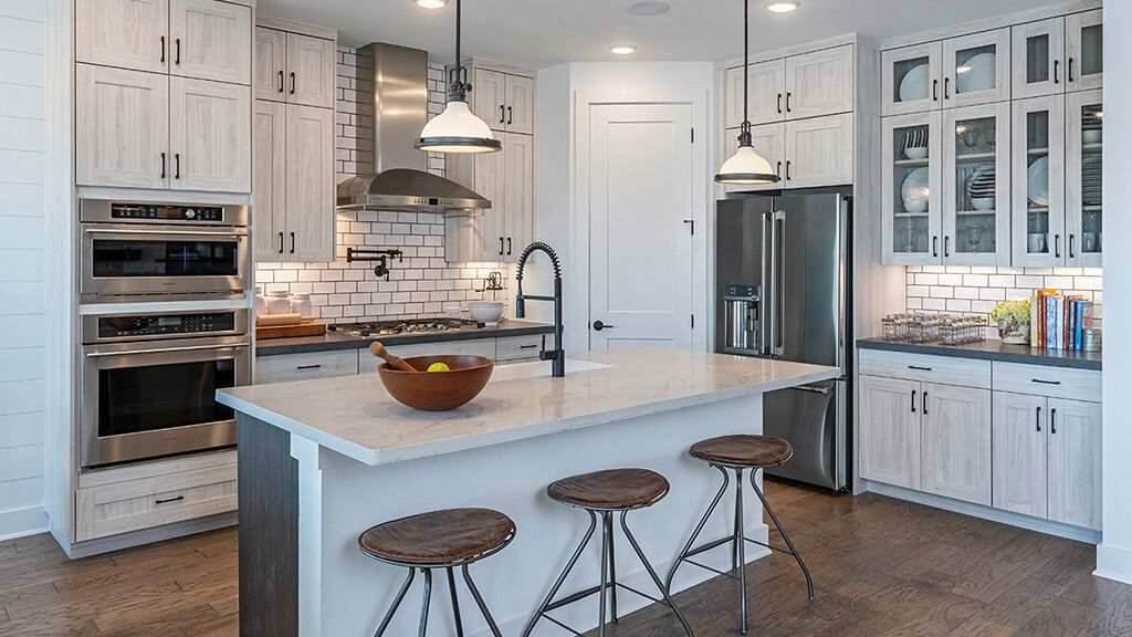 Kitchen featured in the Azure By Taylor Morrison in Austin, TX