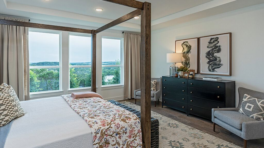 Bedroom featured in the Azure By Taylor Morrison in Austin, TX