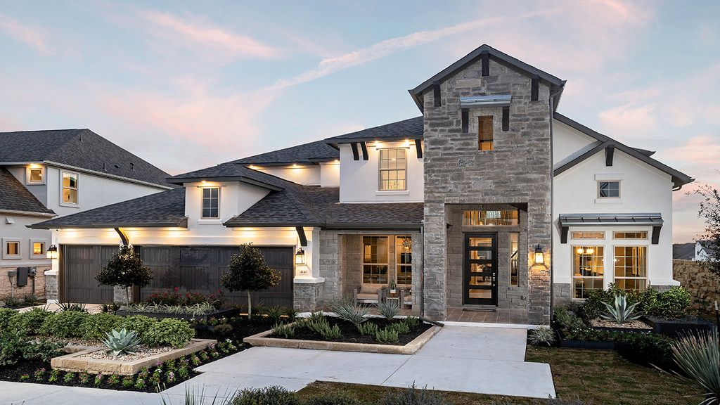 Exterior featured in the Larimar By Taylor Morrison in Austin, TX