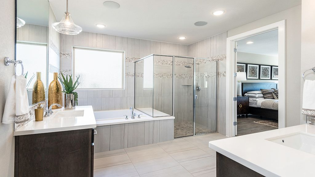 Bathroom featured in the Larimar By Taylor Morrison in Austin, TX