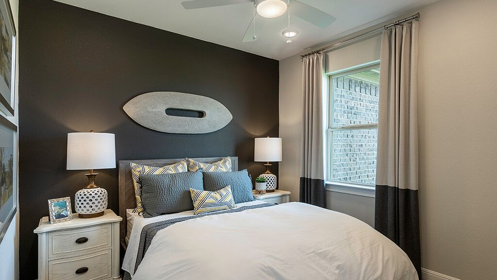 Bedroom featured in the Onyx By Taylor Morrison in Austin, TX