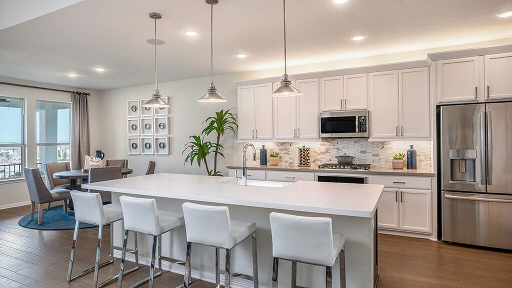 Kitchen featured in the Terracotta By Taylor Morrison in Austin, TX