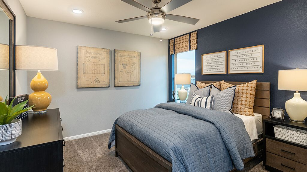Bedroom featured in the Terracotta By Taylor Morrison in Austin, TX