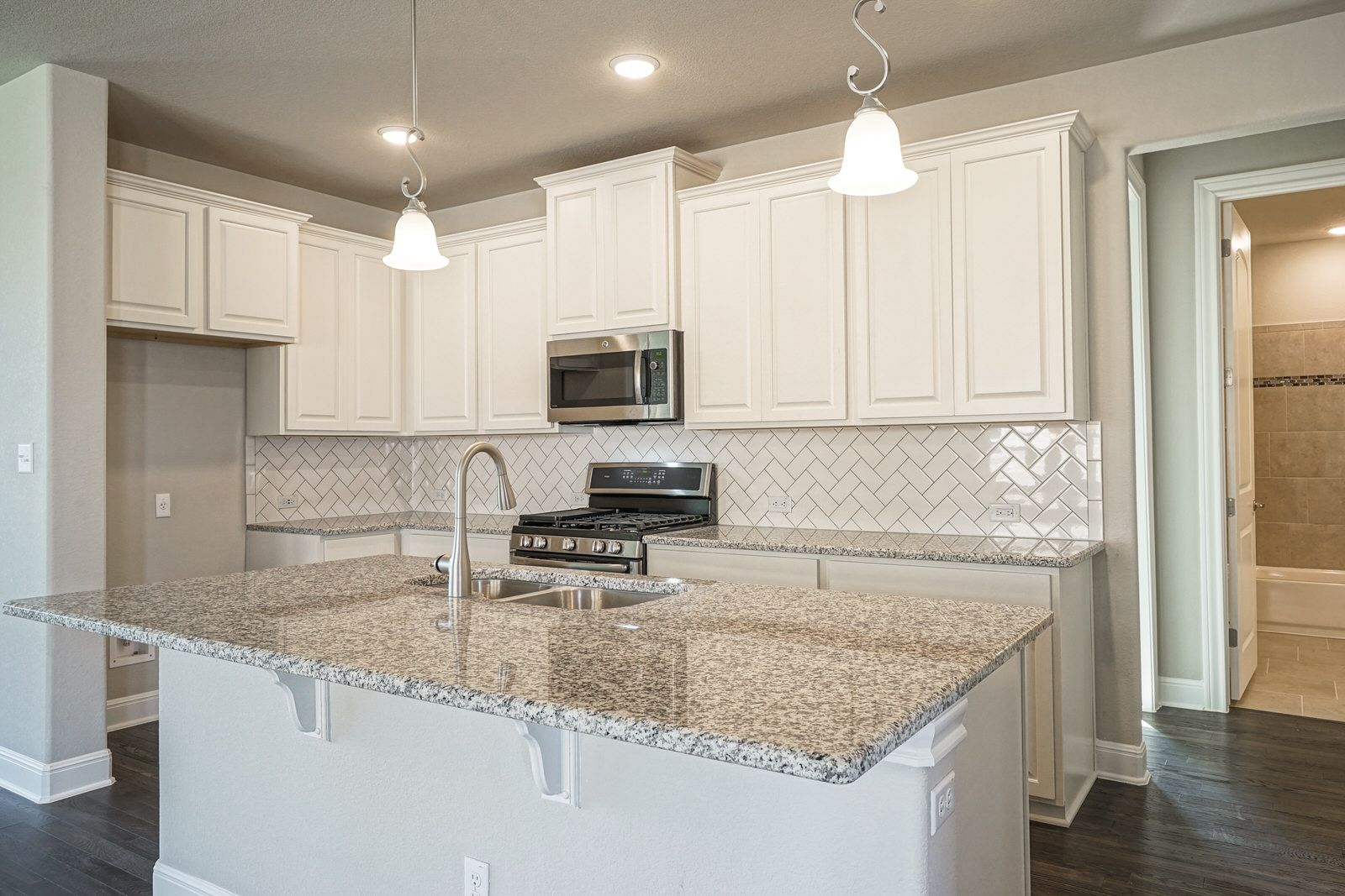 Kitchen featured in the Evergreen By Taylor Morrison in Austin, TX
