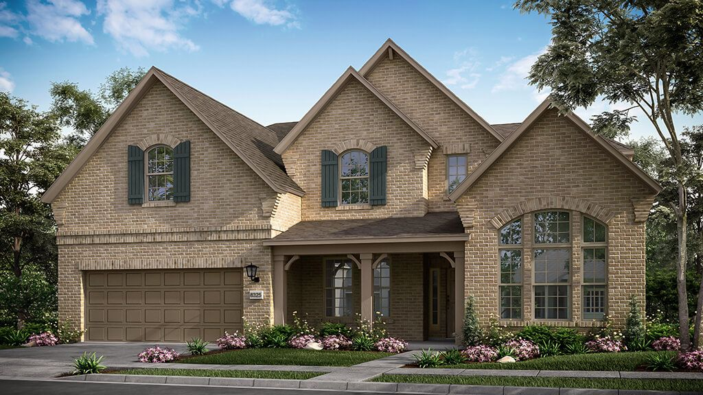 Exterior featured in the Peridot Plan By Taylor Morrison in Dallas, TX
