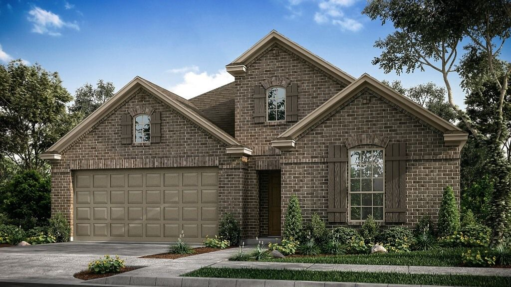 Exterior featured in the Auburn TM Plan By Taylor Morrison in Dallas, TX