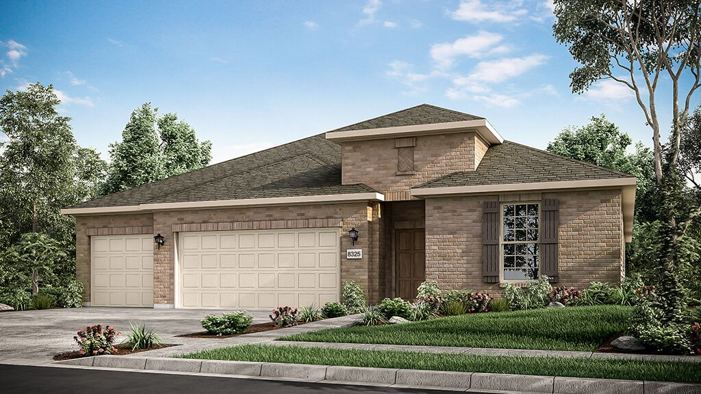 Exterior featured in the Garnet Plan By Taylor Morrison in Dallas, TX