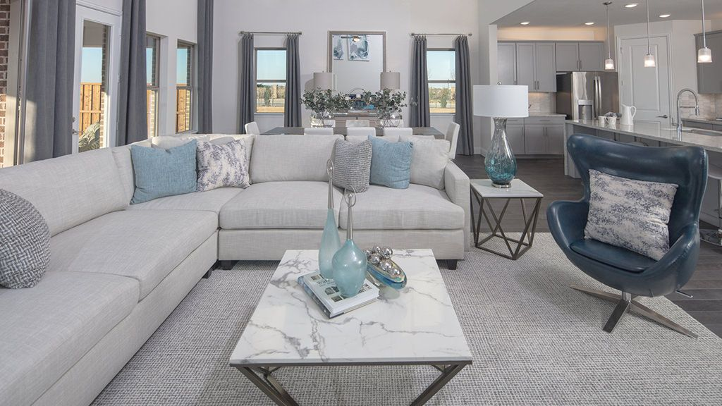 Living Area featured in the Amethyst By Taylor Morrison in Sherman-Denison, TX