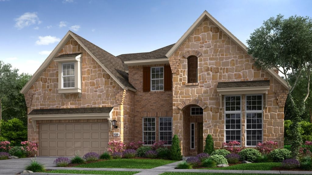 Exterior featured in the Peridot By Taylor Morrison in Dallas, TX