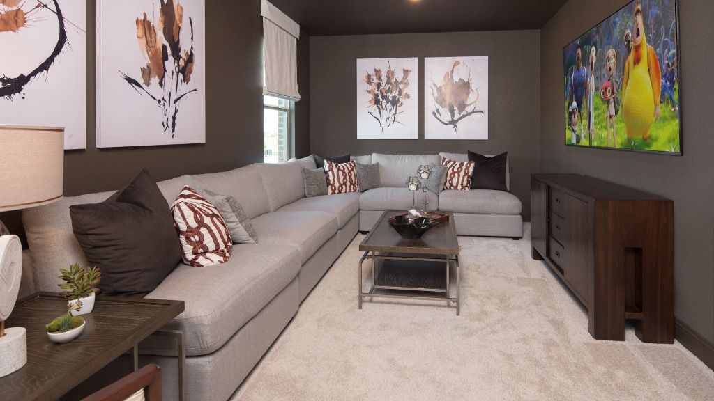 Living Area featured in the Peridot By Taylor Morrison in Sherman-Denison, TX