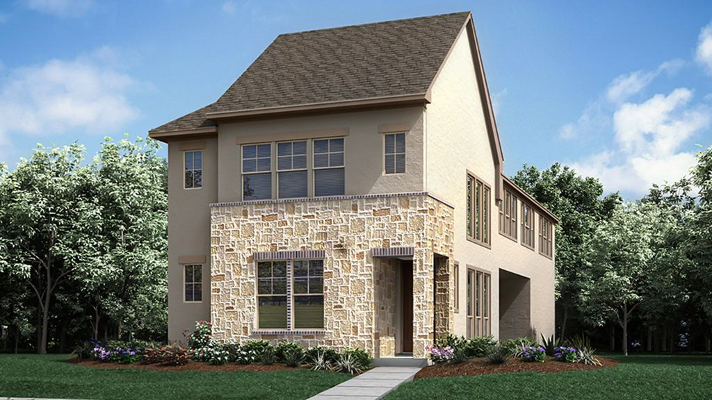 Exterior featured in the 1025 Plan By Darling  Homes in Dallas, TX