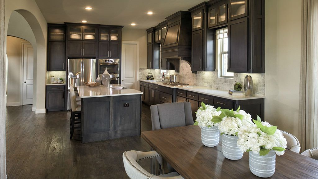 Kitchen featured in the 5040 Model Plan By Darling  Homes in Dallas, TX