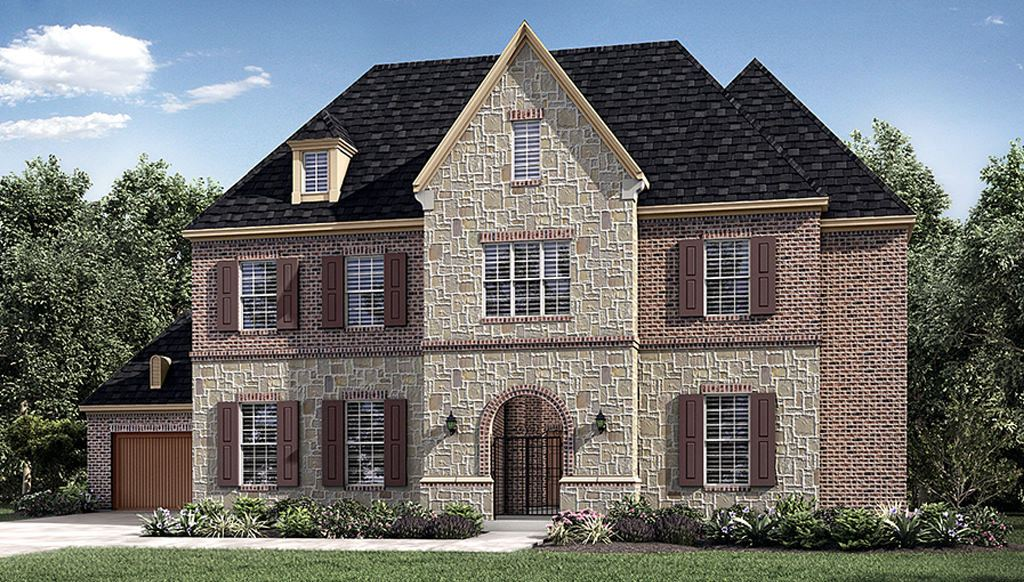 Exterior featured in the 8010 Model Plan By Darling  Homes in Dallas, TX