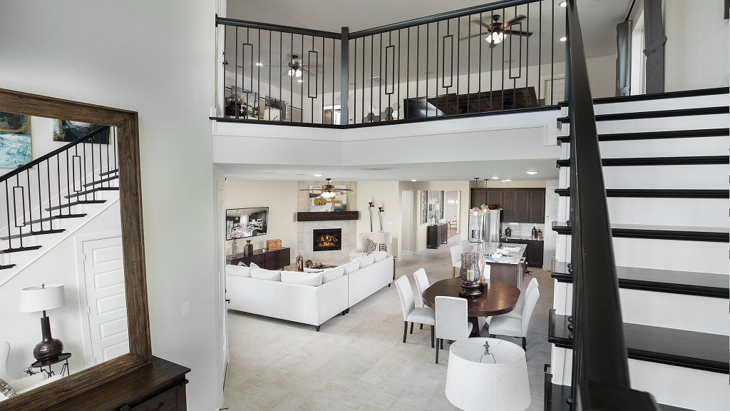 Living Area featured in the Garnet By Taylor Morrison in Houston, TX
