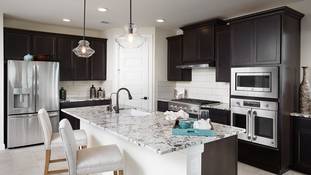 Kitchen featured in the Garnet By Taylor Morrison in Houston, TX