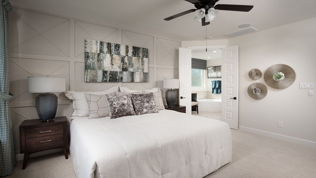 Bedroom featured in the Garnet By Taylor Morrison in Houston, TX