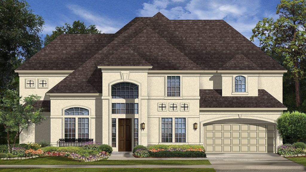 Exterior featured in the Geneva Plan By Taylor Morrison in Houston, TX