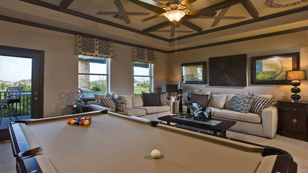 Living Area featured in the Marseille Plan By Taylor Morrison in Houston, TX