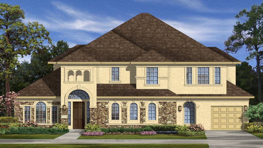Exterior featured in the Salerno Plan By Taylor Morrison in Houston, TX