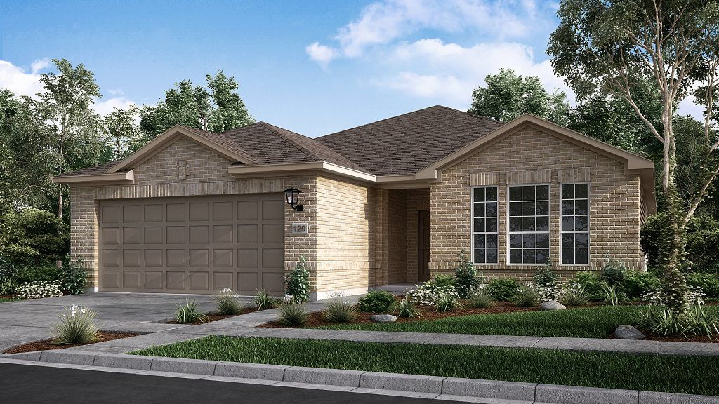 Exterior featured in the Driftwood By Taylor Morrison in Houston, TX