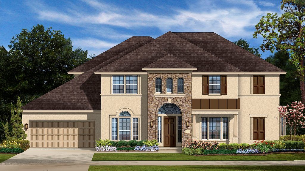 Exterior featured in the Milano Plan By Taylor Morrison in Houston, TX