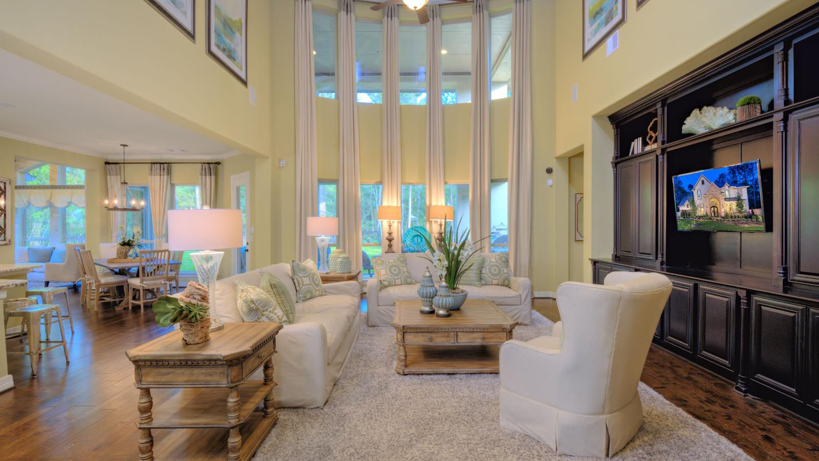 Living Area featured in the Milano Plan By Taylor Morrison in Houston, TX