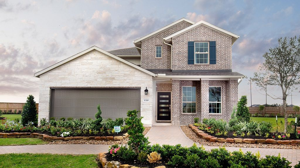 Exterior featured in the Jasmine By Taylor Morrison in Houston, TX
