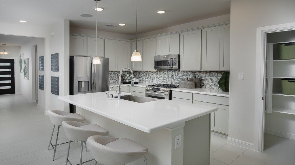 Kitchen featured in the Jasmine By Taylor Morrison in Houston, TX
